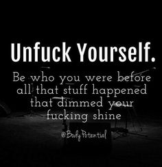 [Image] Be who you were before. https://i.redd.it/chf2670rb45z.jpg