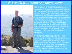 Peter Gaines - South West Coast Path Completer