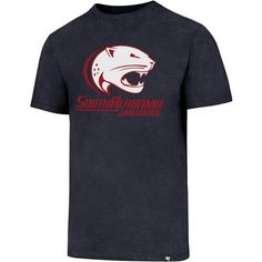 '47 University of South Alabama Logo Club T-shirt (Navy, Size X Large) - NCAA Licensed Product, NCAA Men's Tops at Academy Sports