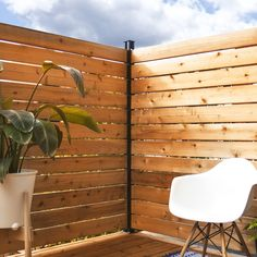 Ground Level Deck, How To Level Ground, Outdoor Spaces, Outdoor Living, Outdoor Decor, Outdoor Retreat, Outdoor Projects, Outdoor Ideas, Privacy Walls