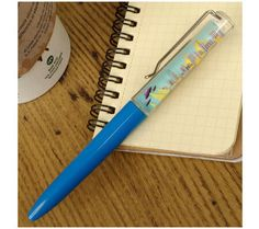 Flying Saucers Floaty Pen