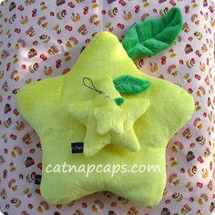 Large Paopu Star Fruit Pillow Cushion  $25