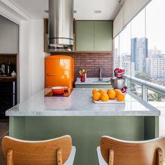 Reforma com bom uso do espaço fez vida 'em 90 m²' caber em apenas 38 m²