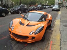 Cars in Real Life: Lotus Elise in NYC