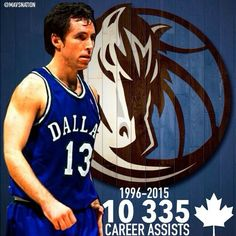 "By @mavsnation """"I'm retiring from basketball. Thanks for all the love through the years"" - Steve Nash  Wish #SteveNash ended his career in Dallas. With 10 335 career assist 2 time MVP, 3rd all time assist leader, 8 time ALL-STAR in 19 seasons. #mavsnation #Dallas #Mavericks #Mavs #MFFL #NBA #DallasMavericks #MavsNation"