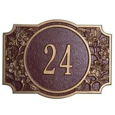 Whitehall Products One Line Luzern Global European Address Plaques by Whitehall. $53.99. About the Luzern Global European Address Plaque Few entryway plaques can say as much about you as our Whitehall Personalized Plaques. Made of recycled aluminum, these plaques are ideal for any size home. Offering a choice of colors for numbers and plaques, the mix and matching ability will create an Address Plaque to complement every décor. About the Materials Durable rec...