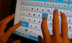 Provide Options for Physical Action/CP 4.1: Using a virtual keyboard provides options for fine motor skills. Some young learners may find it difficult to grasp a mouse or trackball, therefore one can just use their fingers to type on the screen. 1st Grade/Writing: Children may type a short story about summer vacation then present it to the class during author's chair. Click the link to see on-screen typing in action. https://www.youtube.com/watch?v=xIr2jaRU718