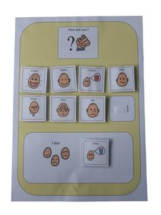Amazon.com: Autism Supplies And Developments PECS Emotion Board: Office Products
