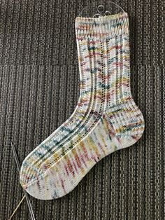 Knitting Patterns Socks Ravelry: Spring Stream Socks pattern by Life Is Cozy Lace Socks, Crochet Socks, Knitted Slippers, Knitted Gloves, Knit Or Crochet, Knitting Socks, Knit Socks, Crochet Granny, Free Knitting