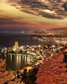 Город Монтрё, Швейцария