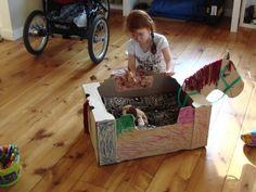 cardboard box horse - Google Search