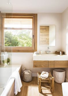 bathroom remodeling is categorically important for your home. Whether you choose the remodeling bathroom ideas or serene bathroom, you will make the best bathroom ideas remodel for your own life. Gorgeous Bathroom, Big Bathrooms, Home, Trendy Bathroom, Relaxing Bathroom, Relaxing Bathroom Decor, Small Bathtub, Bathrooms Remodel, Bathroom Design