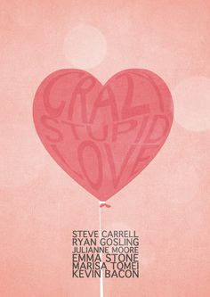 Crazy Stupid Love by Mads Hindhede. Actually, a really good film, especially the twist at the end.