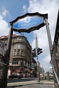 U-Bahnhof Kochstrasse  _____________________________ Bildgestalter http://www.bildgestalter.net