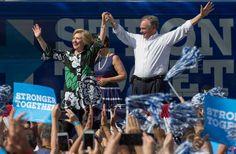 Hillary Clinton and Tim Kaine Show New Tax Returns, Pressuring Donald Trump
