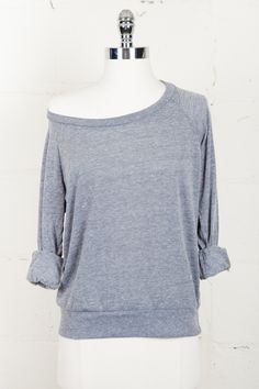 Grey Slouchy Pullover