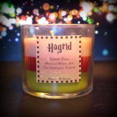 Hagrid Scented 4 oz Candle: Dragon Fire, Mulled Mead, and Hogwarts Gounds