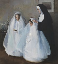 Elizabeth Nourse (1859–1938), The First Communion (La Première communion), 1895