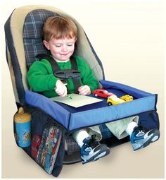 On-the-Go Kids' Activity Tray for Car, Playroom, and Home