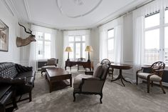 Uno de los más lujosos hoteles en Copenhague tras una restauración profunda ha renacido como más lujoso aún | Ver Y Visitar