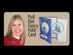 Learn how to make a fancy fold card using the Sailing Home Stamp Set from Stampin' Up! Birthday Cards For Him, Masculine Birthday Cards, Masculine Cards, Fancy Fold Cards, Folded Cards, Card Making Tutorials, Making Ideas, Nautical Cards, Card Making Inspiration