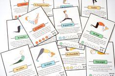 postures yoga enfants à imprimer