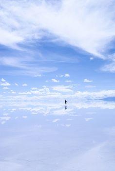 Salar de Uyuni, Bolivia .. Breathtaking !!