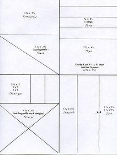One sheet wonder cutting guide 2