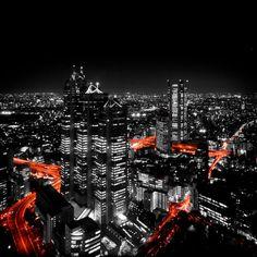 Tokyo at Night by ~imladris517 #photos