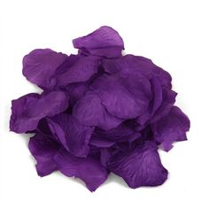 HDE® Artificial Rose Flower Petals - Assorted Colors (500 Petals, Deep Violet) - http://yourflowers.us/?p=15103