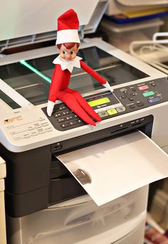 This Elf on the Shelf idea is too funny.