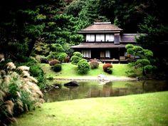 Японский дом.