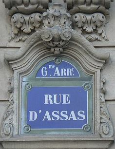 rue d'Assas - Paris 6e