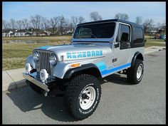 1983 Jeep CJ-7 Renegade  Maintenance/restoration of old/vintage vehicles: the material for new cogs/casters/gears/pads could be cast polyamide which I (Cast polyamide) can produce. My contact: tatjana.alic@windowslive.com