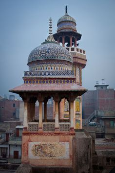 masjid wazir khan, old lahore, pakistan | islamic art + architecture