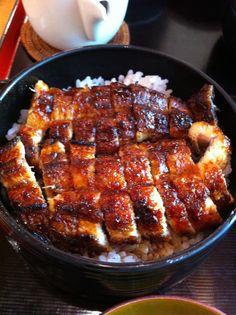Hitsumabushi of eel