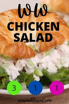 Looking for great ww blue plan recipes, ww green plan recipes, or ww purple plan recipes? When looking for easy ww recipes, you've hit the jackpot with this recipe! This Easy WW Chicken Salad recipe is only 1 point on ww blue plan, 1 point on ww purple plan, and 3 points on ww green plan. Loved by many, this is one of the best ww recipes with points. This is by far one of the best ww 1 point recipes! #ww #wwrecipes #wwblueplan #wwgreenplan #wwpurpleplan #wwchicken #chickenrecipes Weight Watchers Lunches, Weight Watcher Dinners, Weight Watchers Chicken, Ww Chicken Salad Recipe, Chicken Recipes, Ww Recipes, Snack Recipes, Breakfast Recipes, Healthy Alternatives