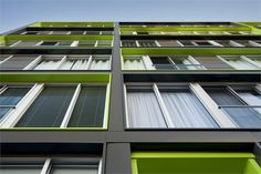 M9 PHASE 1  MONTRÉAL, QUEBEQ / CANADA / 2011 by Sid Lee Architecture #socialhousing #colours