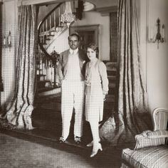 Douglas Fairbanks & Mary Pickford ~ My Love Of Old Hollywood: Hollywood at Home: Pickfair.