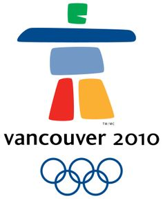 Inukshuk symbol for Vancouver Winter Olympics 2010