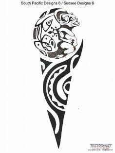 Inca tattoo, interesting shape
