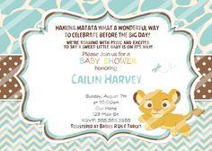 partyexpressinvitations - Chevron Baby Simba Baby Shower Invitations Blue, $8.99 (http://www.partyexpressinvitations.com/chevron-baby-simba-baby-shower-invitations-blue/)