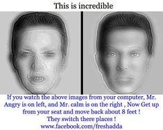 our eyes deceiving us