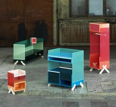 PEEP Storage Units by Note Design Studio.