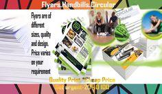 Flyers Handbill Circular from London Print Shop at cheap price