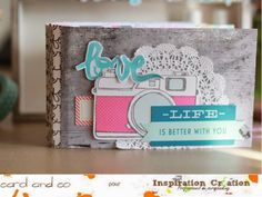 Little moments in my life: Une nouvelle réa DT Inspiration Création!