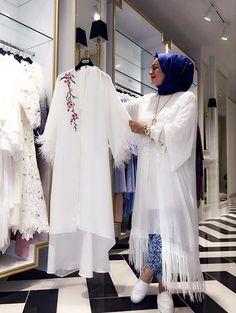 Sheer Jalabiyyas Kimono Top