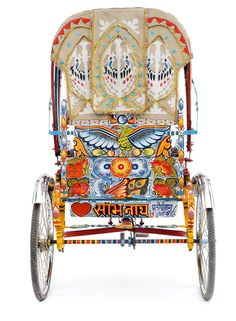 INDIA: Art of the RICKSHAW WALLAH