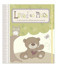 Loved So Much Record Book - books, albums & frames - Mothercare