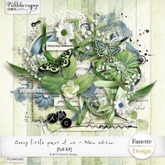 Every little part of me {full kit} + gift by Fanette Design
